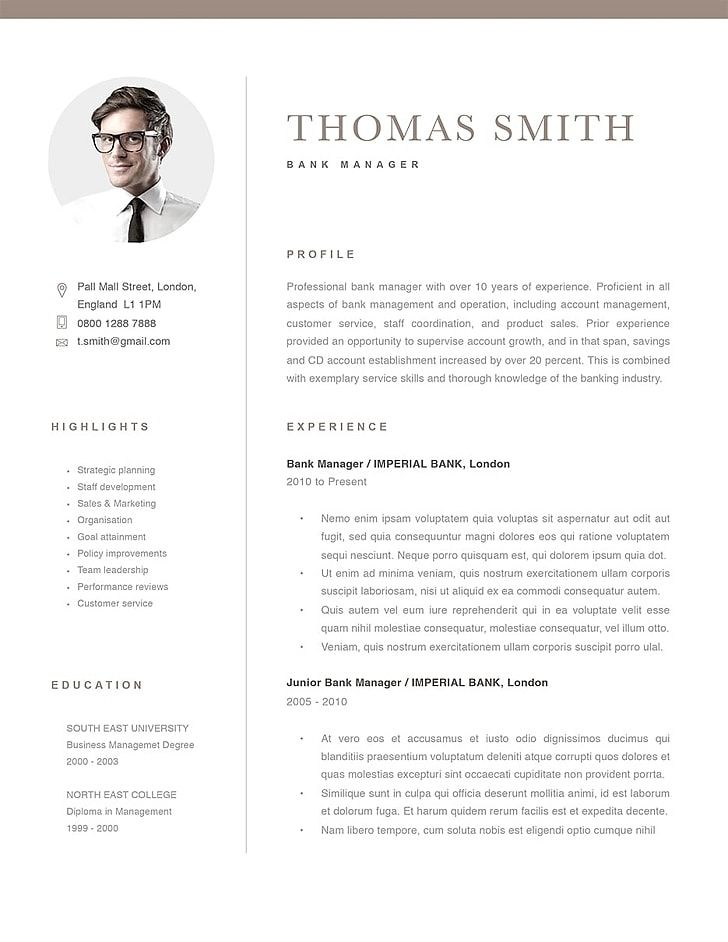 Classic Resume Templates Make Your Resume Stand Out Resumeway Good Resume Examples Resume Template Resume Templates
