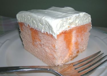 If you love the taste of orange cream popsicles youll love this cake. I made this for a cookout in the summer and there was no leftovers to go back home.