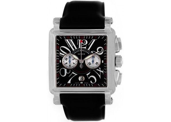 Franck Muller Cortez Conquistador Men's White Gold Watch 10000 M CC