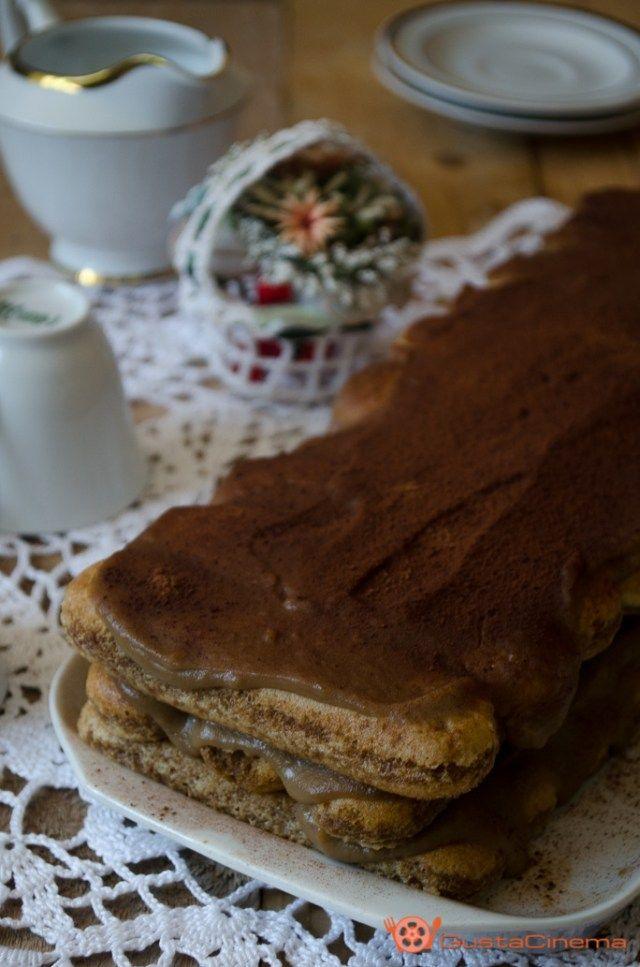 Tiramisu con crema pasticcera al caffè un dessert al cucchiaio molto delizioso realizzato senza mascarpone. Un ottima alternativa al classico tiramisù.