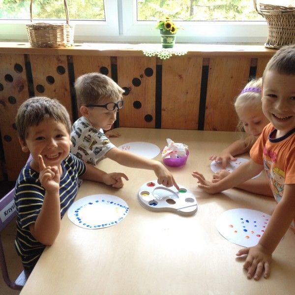 BIEDRONKI ŚWIĘTUJĄ DZIEŃ KROPKI - Przedszkole Miejskie nr 51 w Sosnowcu