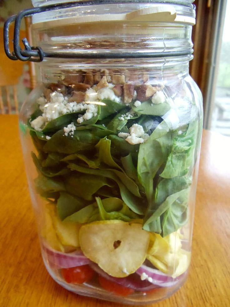 Salad in a Fermenting Jar  ~Cultured Food Life