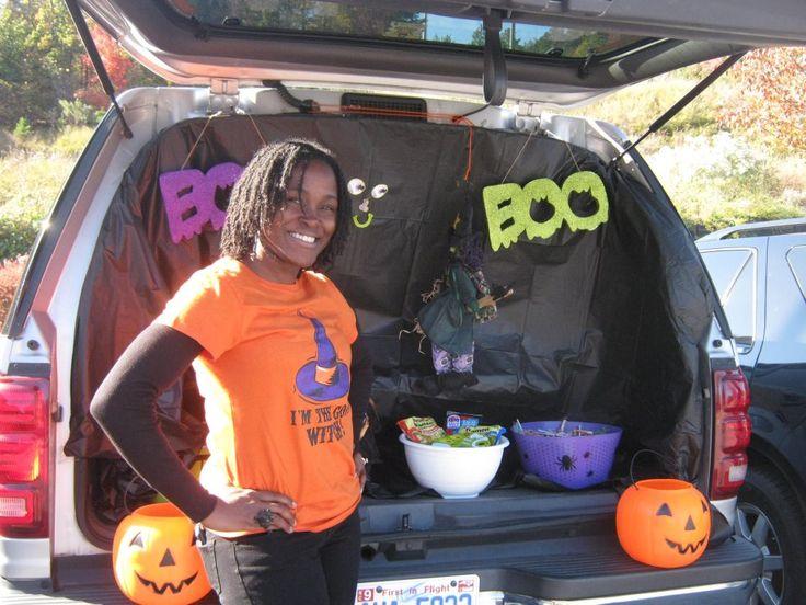 59 best Halloween images on Pinterest Halloween prop, Halloween - halloween decorated cars