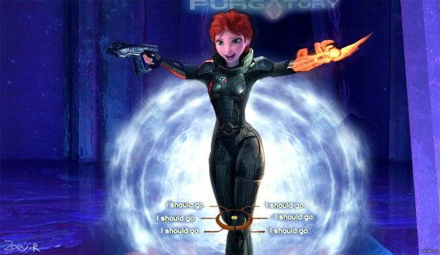 """I Should Go"" Is The Mass Effect/Frozen Parody We Didn't Know We Wanted - Be the soldier you always have to be."
