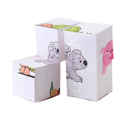 かわり絵ボックス(かわりえぼっくす) 簡単!牛乳パックで作ろう 楽しい工作 雪印メグミルク株式会社