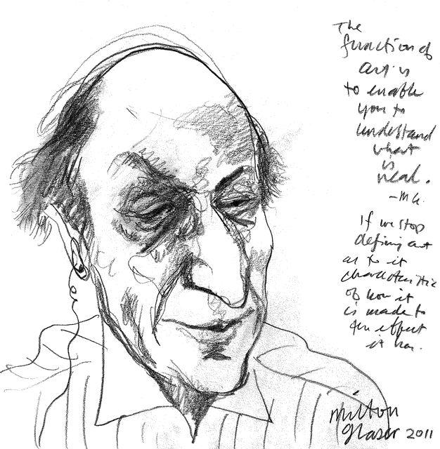 Milton Glaser, 2011
