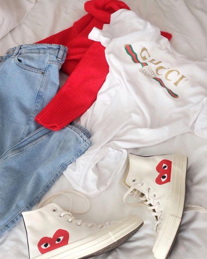 Gucci + Comme des Garçons = le bon mix (photo Débora Rosa)