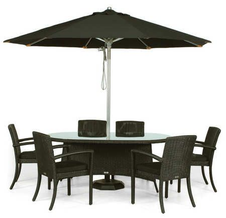 Garden Furniture 6 contemporary garden furniture 6 seater round sets ideas e intended