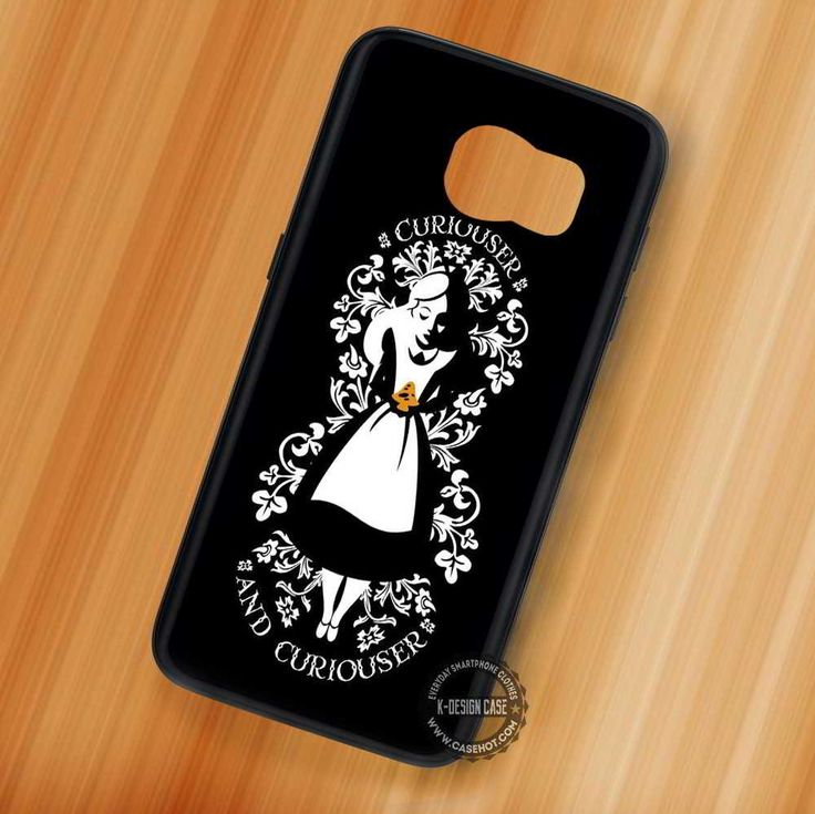 Curiouser and Curiouser Alice & Wonderland Disney - Samsung Galaxy S7 S6 S5 Note 7 Cases & Covers