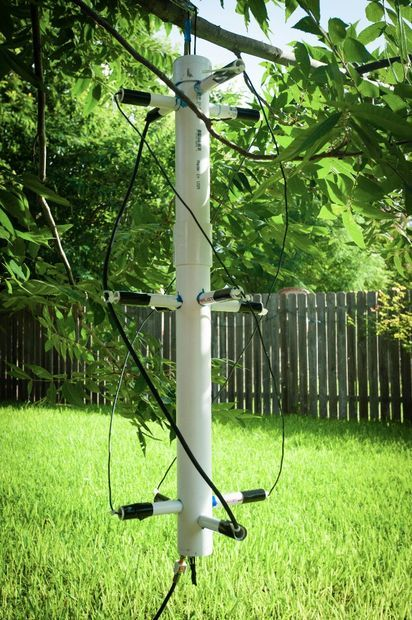 NOAA Satellite Signals with a PVC QFH Antenna and Laptop