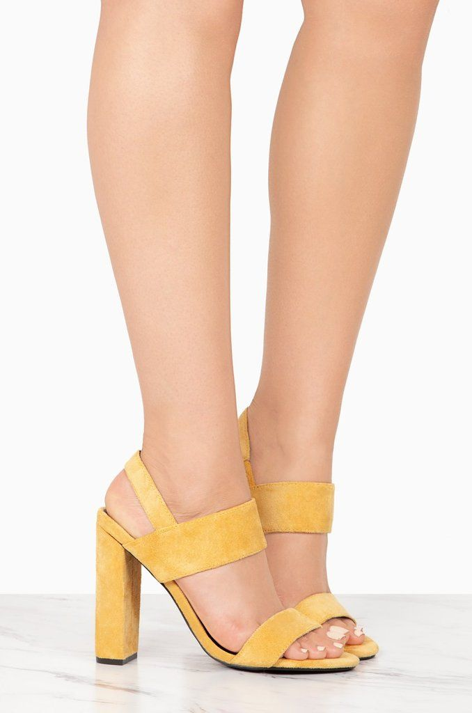 063c15f41f834 Lead Em On - Mustard in 2019 | Miss Lola Favorite Shoes | Shoes, Yellow  heels, Heels