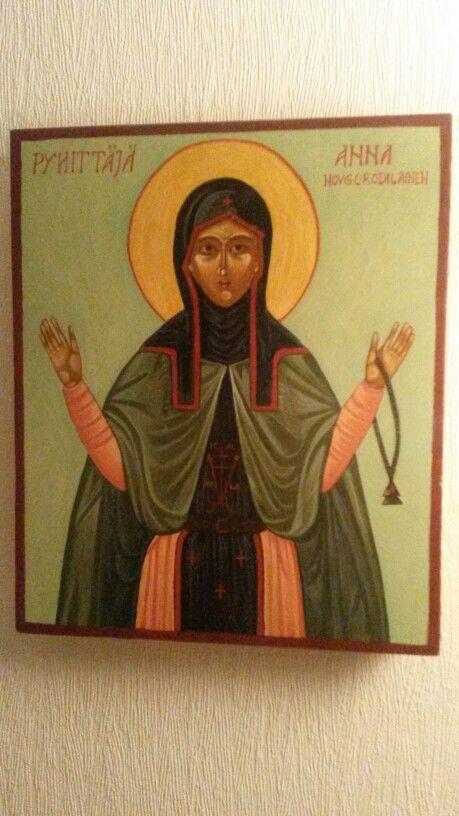 Pyhä Anna Novgorodilainen St. Anna of Novgorod