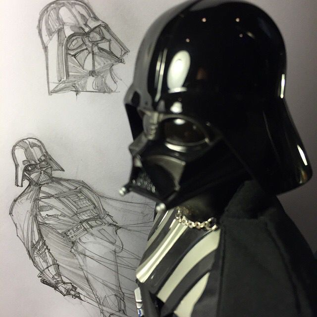 J Scott Campbell | Sideshow Collectibles Darth Vader | creating something Magical | JCG