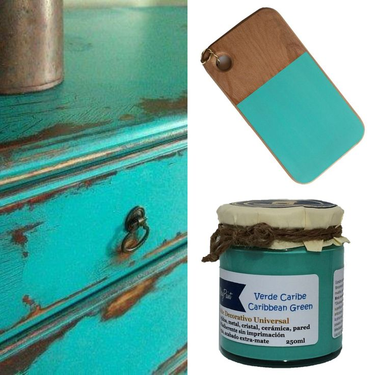 Colores Mary Paint - MaryPaint - Caribbean green