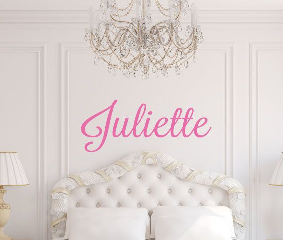 Personalized Name Wall Decal  Monogram Wall Decal  by LucyLews, $12.00