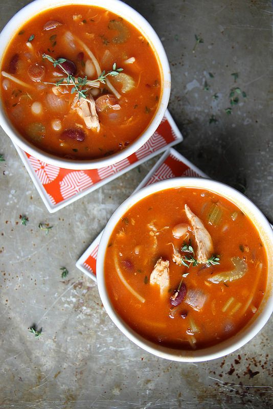 Chicken Minestrone (GF)