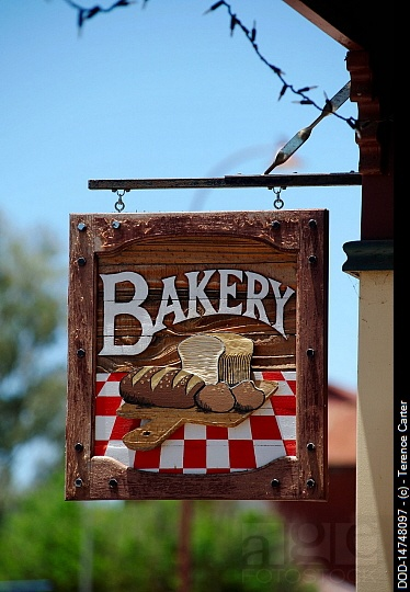 Australia, Toodyay, Bakery sign; seen on: http://www.agefotostock.com/en/Stock-Images/Rights-Managed/DOD-14748097/?light=826643. And for high quality bakers boxes please visit us at http://www.betterbakersbox.com/