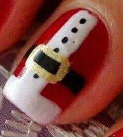 Uñitas de Navidad!!