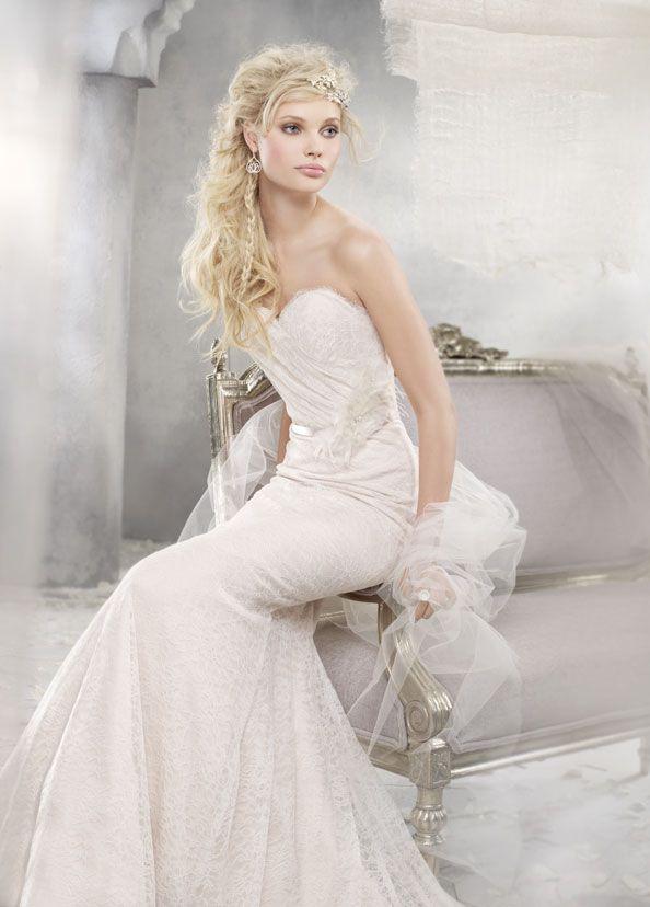 Bridal Gowns, Wedding Dresses by Alvina Valenta - Style AV9257