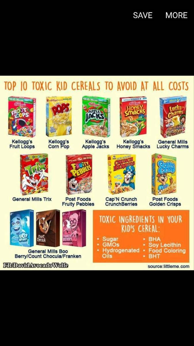 WARNING: Toxics in Food and Cereals / Trisodium Phosphate