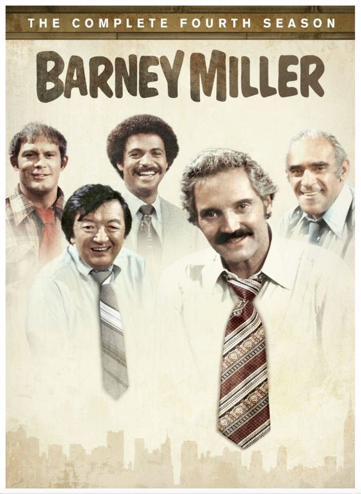 Det. Fish, #Abe #Vigoda, retires, making room for Det. Dietrich (Steve Landesberg) and Officer Carl Levitt (Ron Carey) to take center stage in this release featuring all 23 episodes of #BARNEY #MILLER SEASON FOUR.