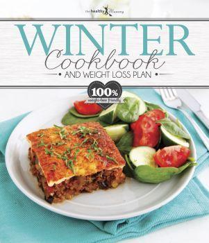 WINTER HARD COVER RECIPE BOOK