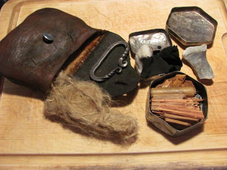 Longhunter Flint and Steel Kit