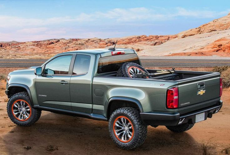 Chevrolet Colorado ZR2 Truck