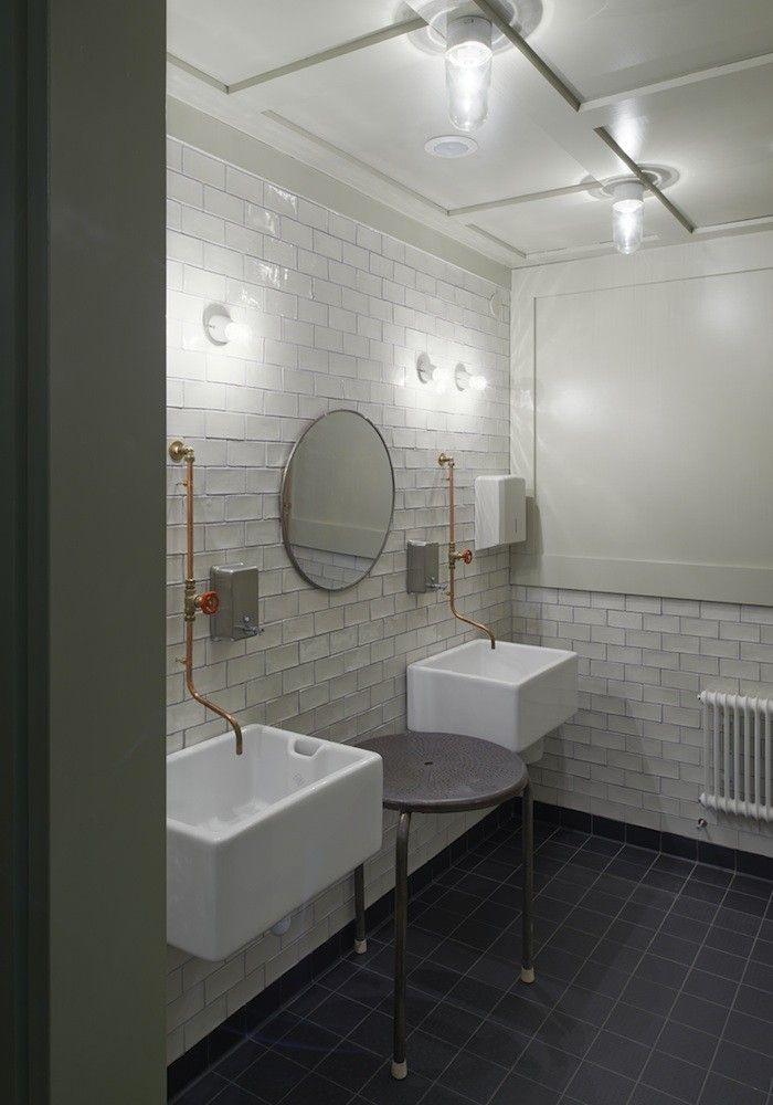 Oaxen Restaurant Bathroom. architect Mats Fahlander, interior designer/architect Agneta Pettersson, and general contractor Einar Mattsson