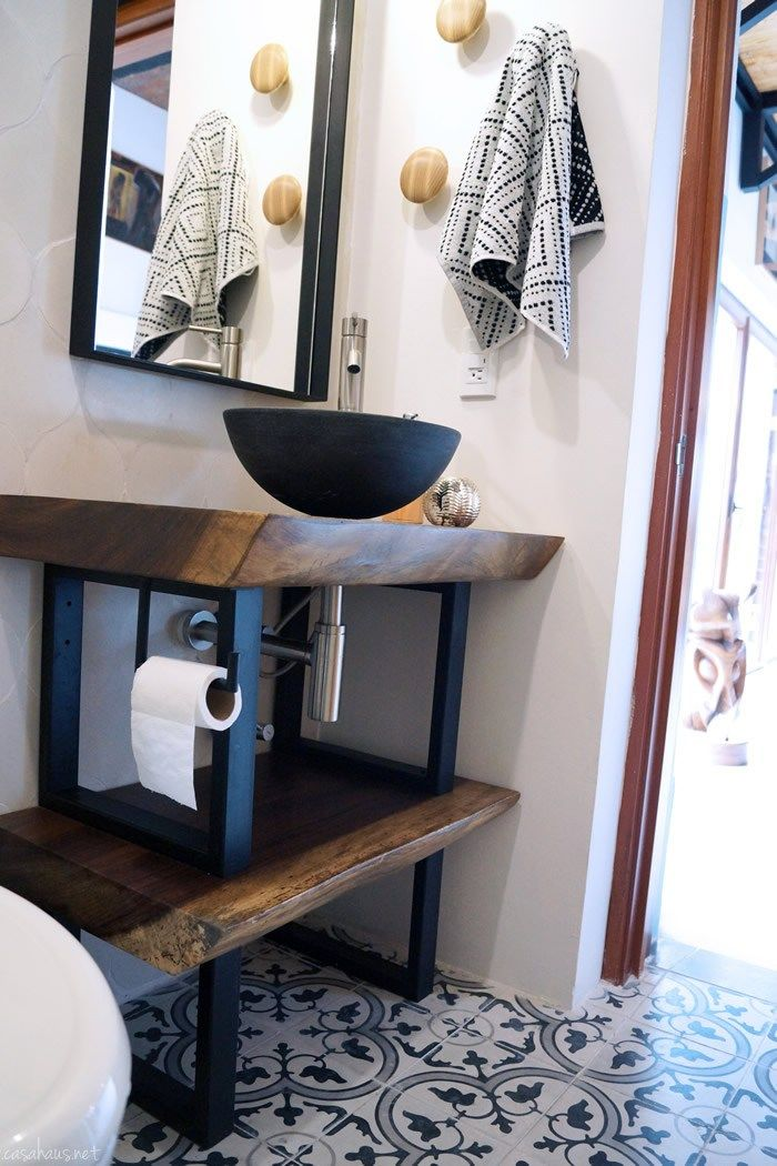 1000 ideas about industrial bathroom design on pinterest for Banos estilo industrial