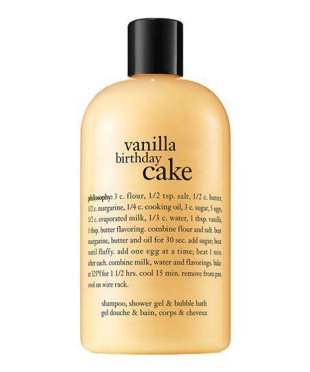 Philosophy Vanilla Birthday Cake 16 Oz Shampoo Shower Gel Bubble Bath