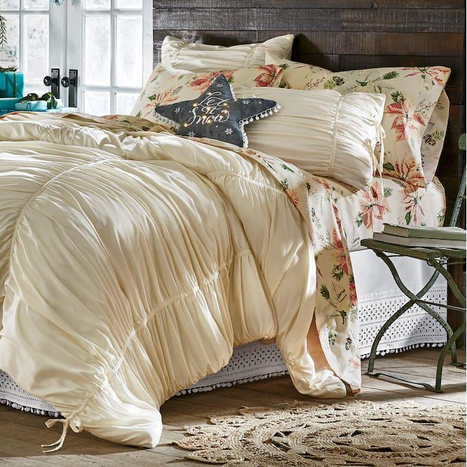Maribelle Comforter And Sham From Country Door In 2020 Comforter Sets Rose Comforter Comforters