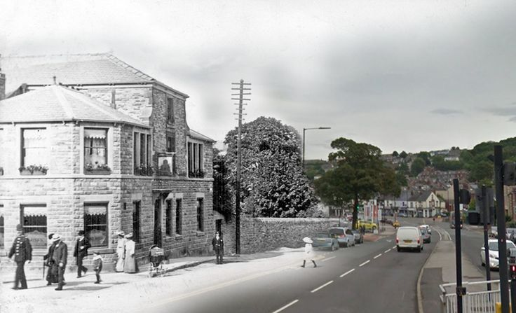 Abbey Pub, Woodseats, Sheffield - Past and Present. Not sure of the date?