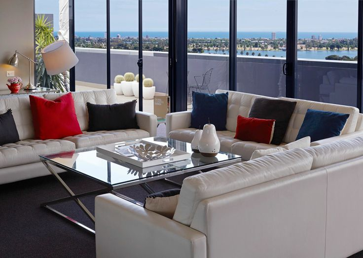 Our Penthouse's, complete with dreamy views of Port Phillip Bay are available for lavish soirees and private events.