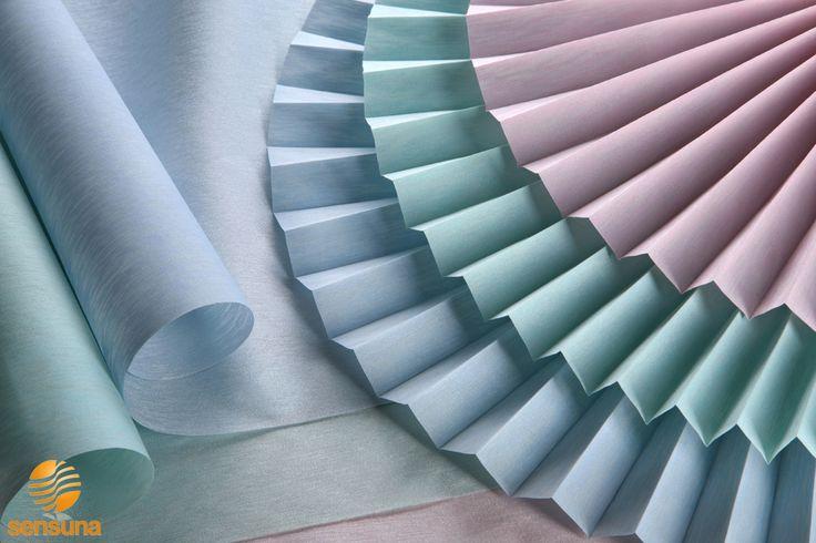 Stoffe in Pastelltönen || pastels blinds