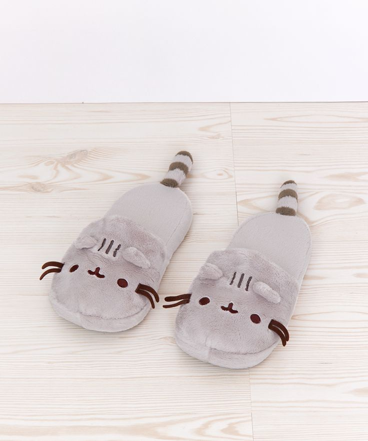 Pusheen the Cat plush slippers (23.99 one size though)