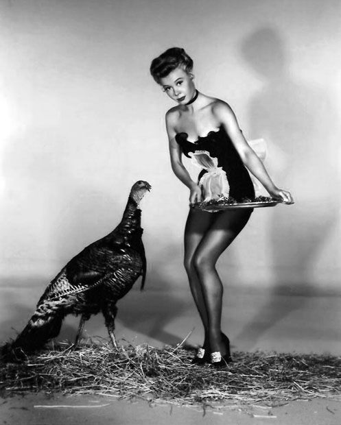 Vera Ellen Is The Thanksgiving Pinup Of Day