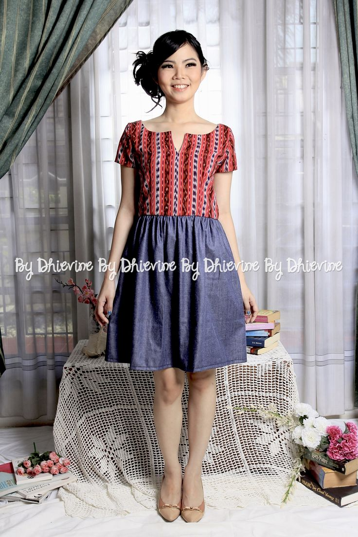 Laksita Ikat Dress | DhieVine | Redefine You
