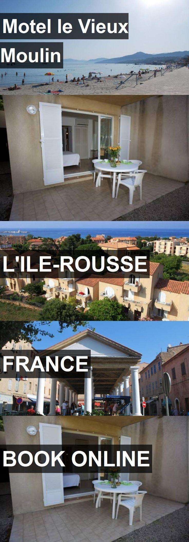 Hotel Motel le Vieux Moulin in L'Ile-Rousse, France. For more information, photos, reviews and best prices please follow the link. #France #L'Ile-Rousse #travel #vacation #hotel