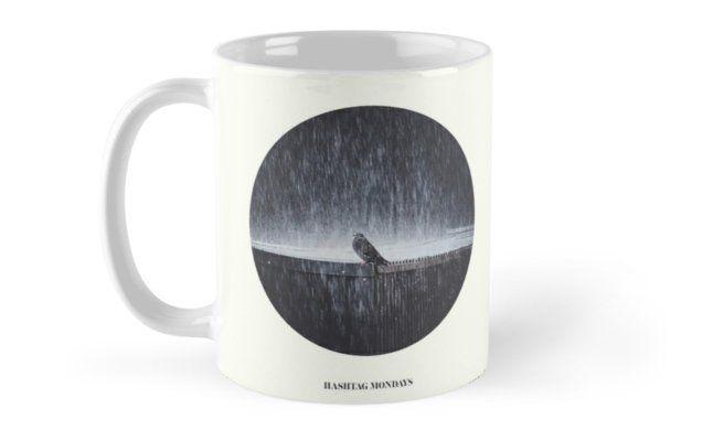 'Hashtag Mondays' Mug by HappyMelvin. #modays #artwork #photography #mugs