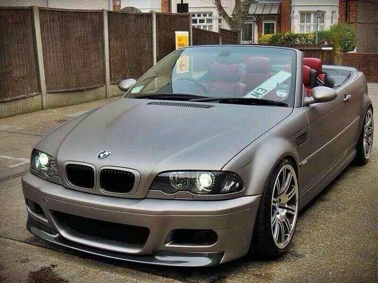 BMW E46 M3 cabrio in matte grey | BMW - Ultimate Driving ...