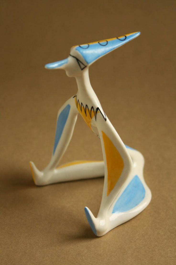 Retro porcelain: Clown - Drasche porcelain