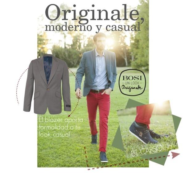"""""""Originale, moderno y casual"""" by bosi-accesorios on Polyvore"""