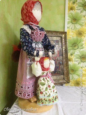 Русская тряпичная кукла. фото 3