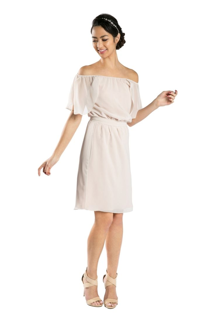 The Joanna August Union bridesmaid dress... Rent on Vow To Be Chic.
