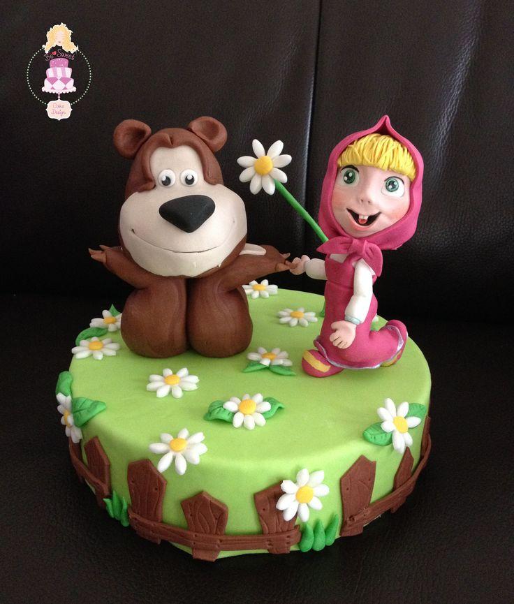 Torta Masha E Orso Torte Decorate Pinterest Torta