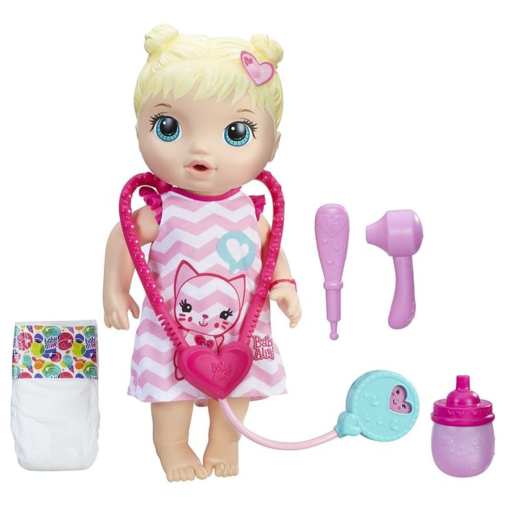 AmazonSmile: Baby Alive Better Now Bailey (Blonde): Toys & Games