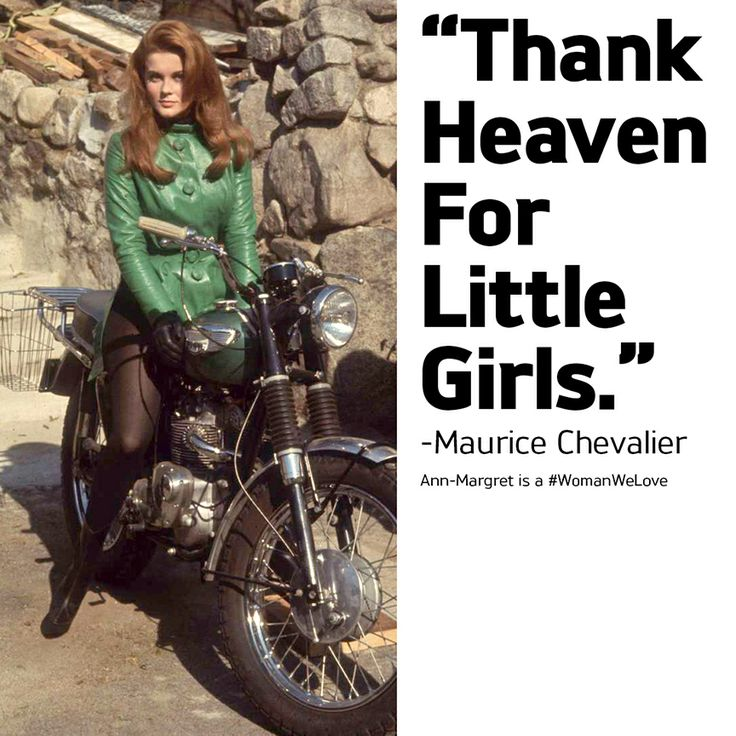 Sixties sex-kitten Ann-Margret loved and rode her own Triumphs and is another of the #WomenWeLove. Find extraordinary Triumph gear, clothing and accessories for the women you love at shop.triumphmotorcycles.com (Canada: shop.triumph-motorcycles.ca) and at your local Triumph dealers. Flowers not included.