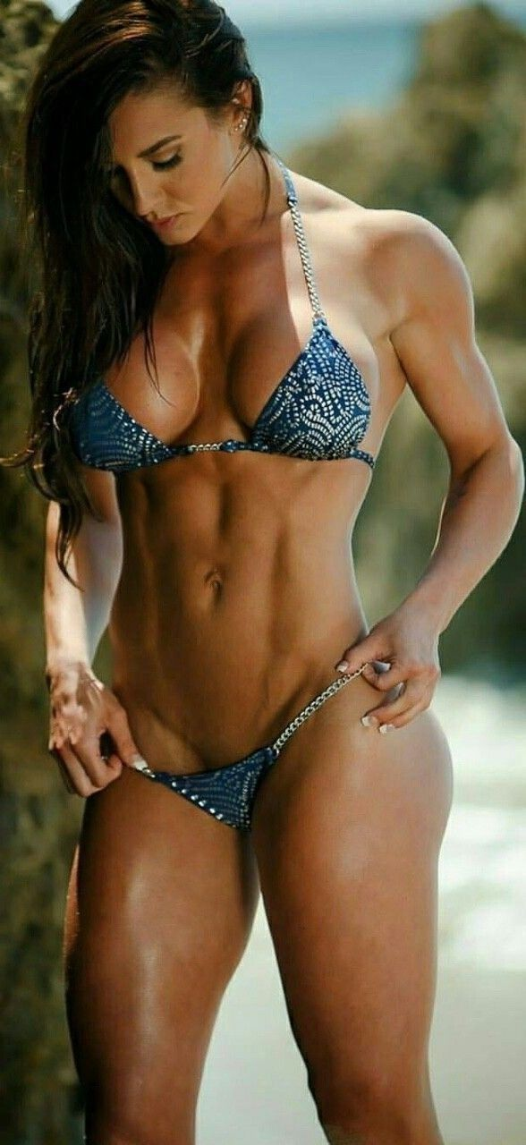 Sexy Fitness Woman Perfect Shape Body Stock Photo