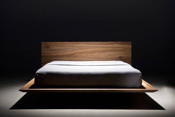 Mazzivo Bed Slim I Alder Wood I 200x200 I Etsy Bett Ideen
